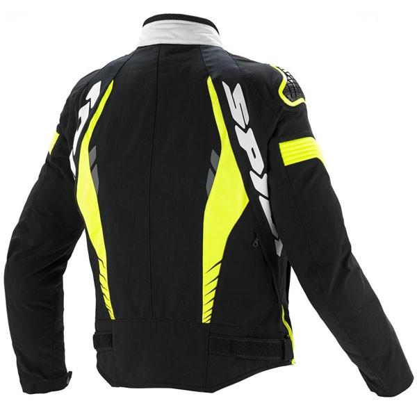 Spidi It Tex Tech Warrior Tex Jacket Black & White/fluo