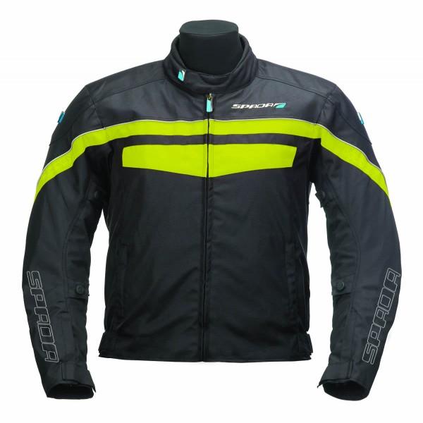 Spada Textile Jacket Energy 2 Black & Fluo