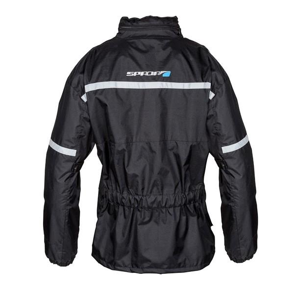 Spada Textile Aqua Quilted Jacket Black