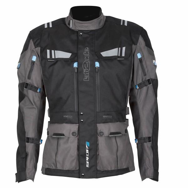 Spada Textile Jacket Lat2Tude Wp Black & Anthracite
