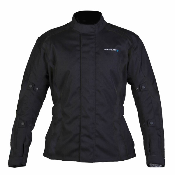 Spada Planet Textile Jacket - Black