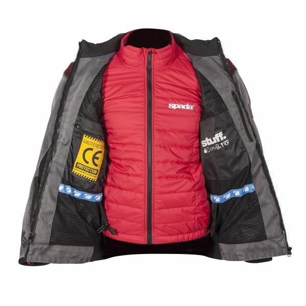 Spada Stelvio Textile Jacket - Anthracite