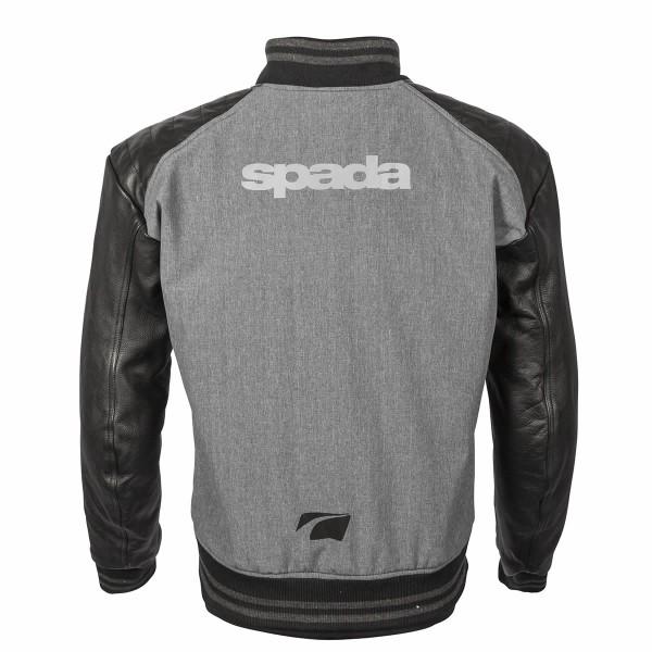 Spada Textile Jacket Campus Yale Black & Grey
