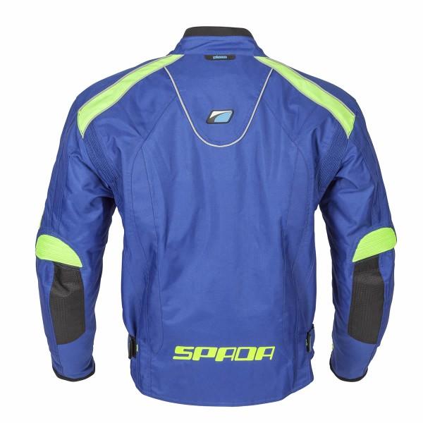 Spada Plaza Textile Jacket - Blueberry/lime