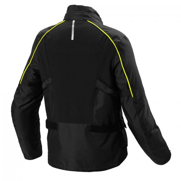 Spidi Gb H2Out Inter Cruiser Jacket Black Fluo Yellow
