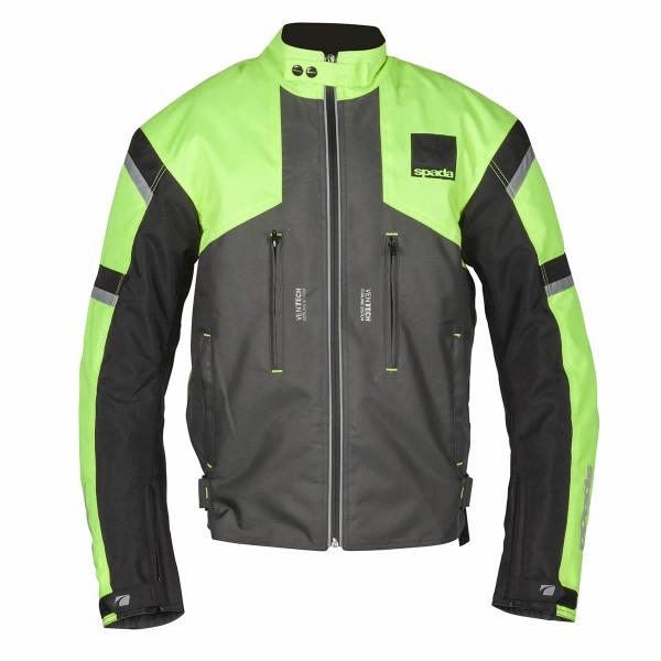 Spada Textile Jacket Latour Wp Fluo & Grey