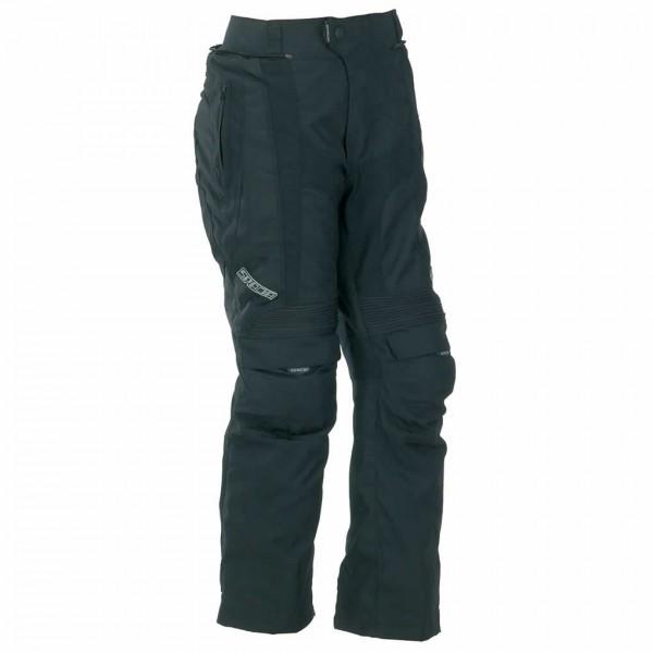 Spada Duo Tech Textile Trousers - Black & Blue Short/std Leg