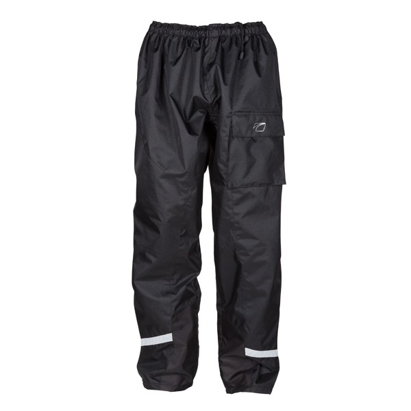 Spada Aqua Quilted Textile Trousers - Black