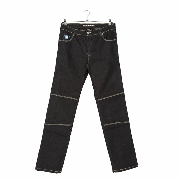 Spada Denim Jeans Rigger Selvedge Ladies Short Leg Grey