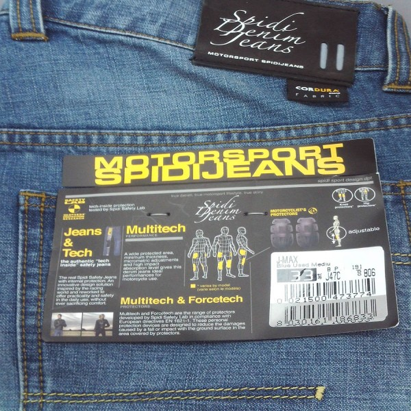 Spidi Gb J Max Jeans Blue Used Med J47C-806