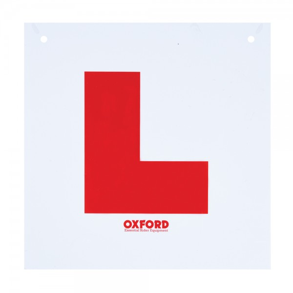 Oxford Self Adhesive L Plate (50 Pack)