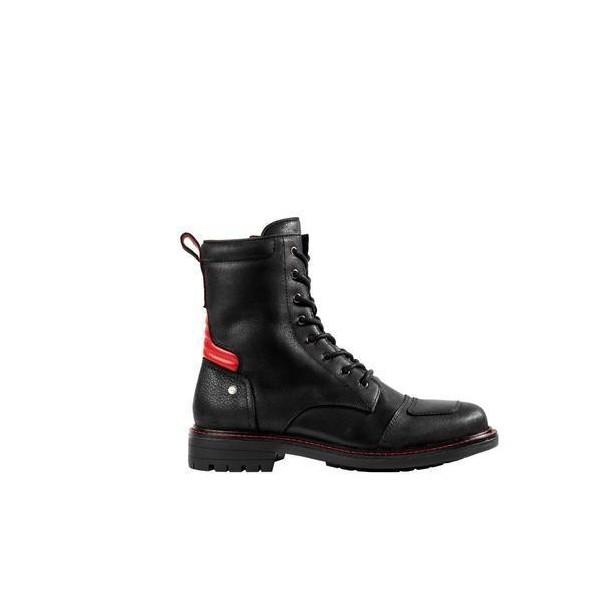 Spidi It X Goodwood M/c Boots Black & Red