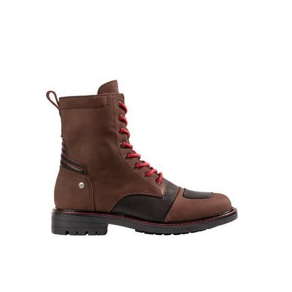 Spidi It X Goodwood M/c Boots Brown