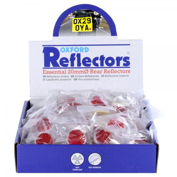 Oxford 20mm Reflector - Box 100pcs