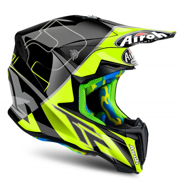 AIROH Twist Cairoli Montova Yellow