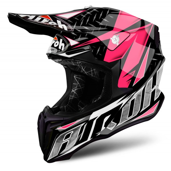 AIROH Twist Iron Pink