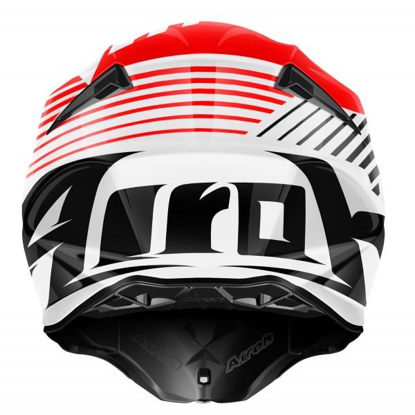 AIROH Twist Strange Red Special
