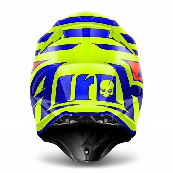 AIROH Twist Cairoli Qatar Yellow Xxl Special