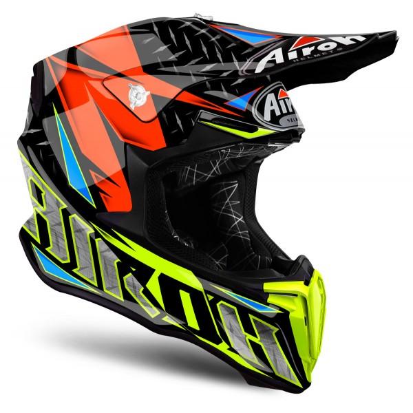 AIROH Twist Iron Orange Xxl Special