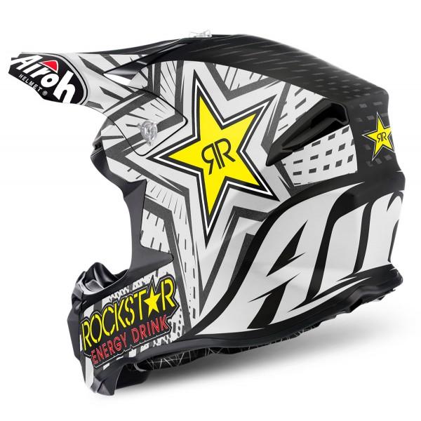 AIROH Twist Rockstar Black Xxl Special