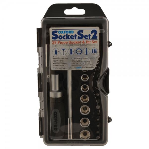 Oxford 29pc Bit and Socket Set