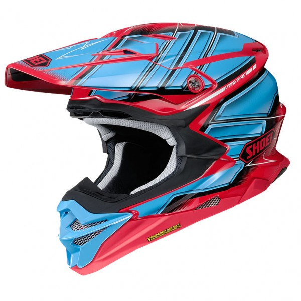 SHOEI Vfx-Wr Glaive Tc1 Red