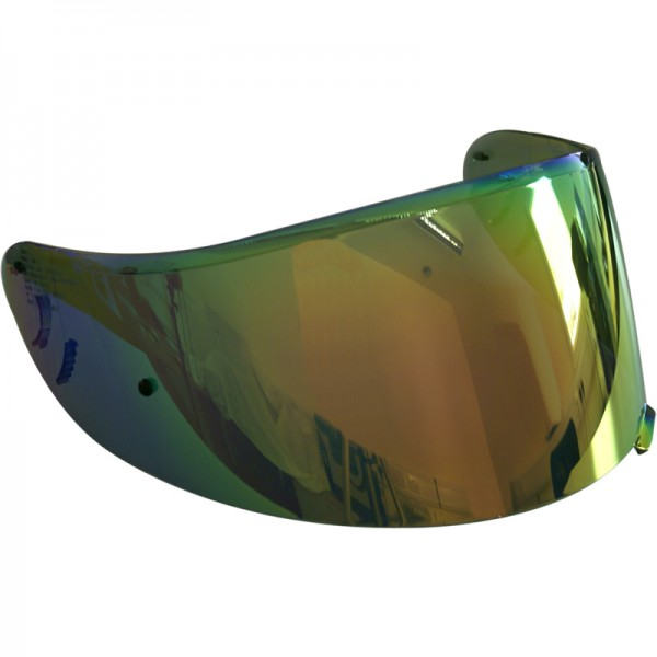 SHOEI Visor Cw-1 Spectra Rainbow [Not Legal For Road Use]