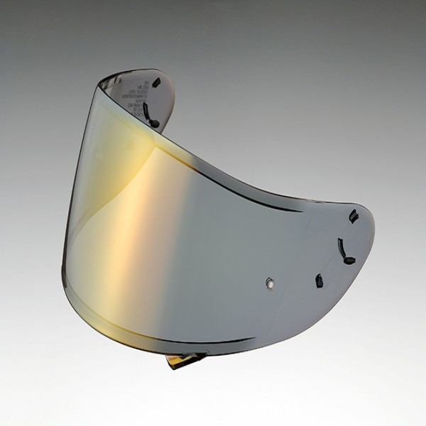 SHOEI Visor Cwr-1 Spectra Gold [Not Legal For Road Use]