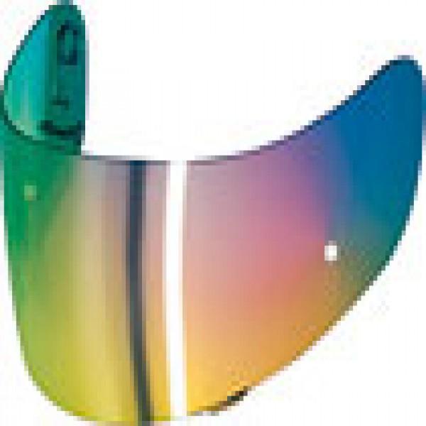 SHOEI Visor Cx1-V Spectra Orange [Not Legal For Road Use]