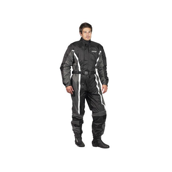 Spada Waterproof Oversuit 407 Black & Grey