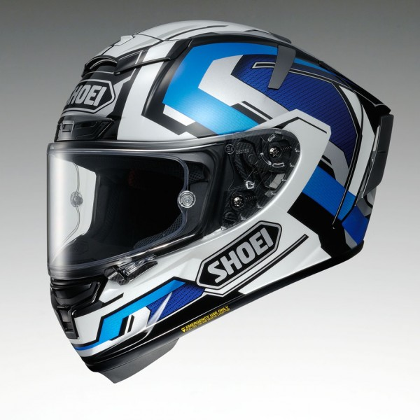 SHOEI X-Spirit 3 Brink Tc2 Blue
