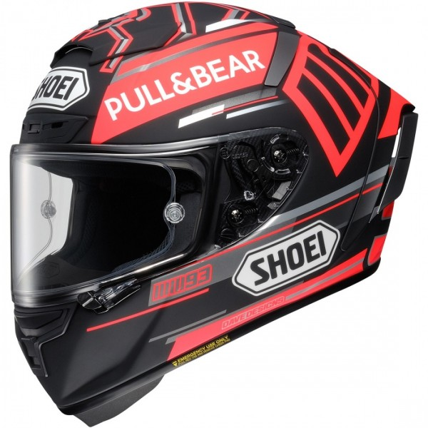 SHOEI X-Spirit 3 Marquez 5 Tc1 Black Concept