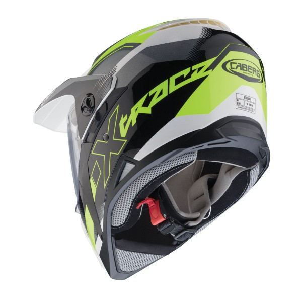 Caberg X-Trace Spark Matt Black & Anthracite & Yellow Fluo