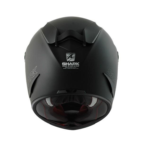 SHARK Race-R Pro Helmet Blank Matt Black