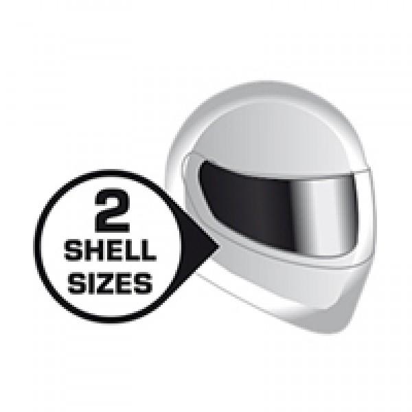 SHARK Nano Helmet Blank Whu