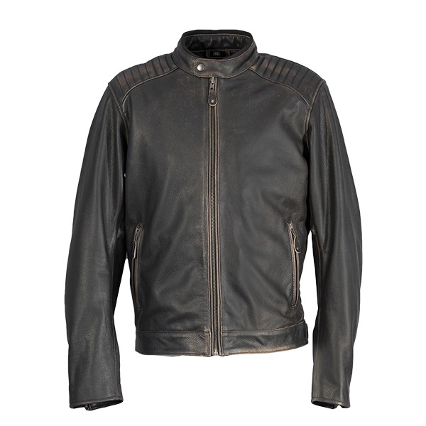 Richa Harrier Leather Jacket Brown