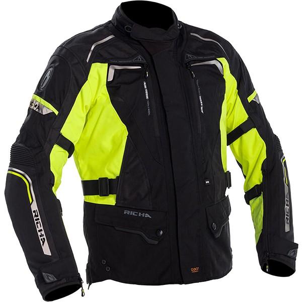 Richa Infinity 2 All Seasons Jacket Black & Fluo
