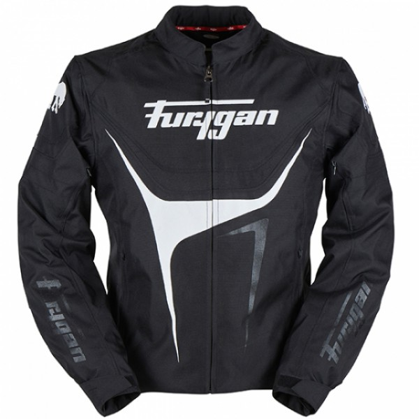 Furygan Oggy Jacket Black & White