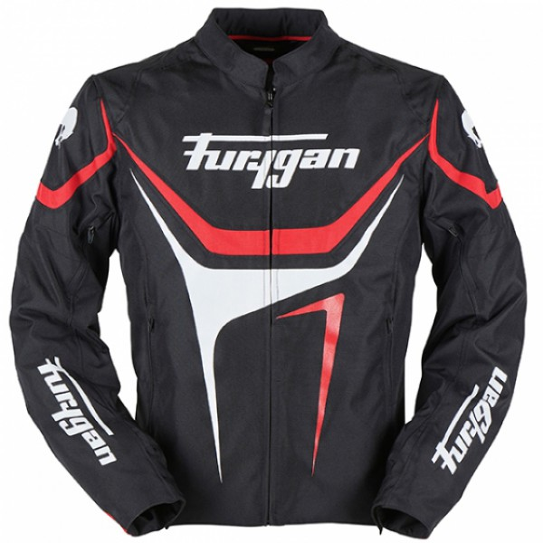 Furygan Oggy Jacket Black & Red