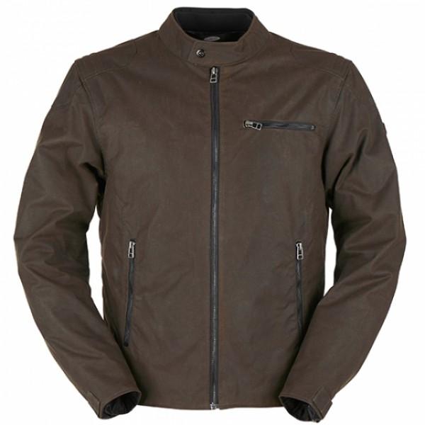 Furygan Bruce Textile Waxed Cotton Jacket - Brown