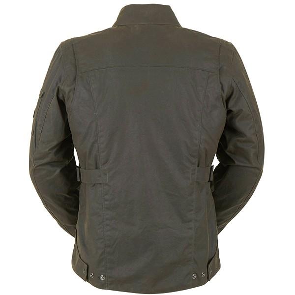 Furygan Thruxton Textile Waxed Cotton Jacket - Brown