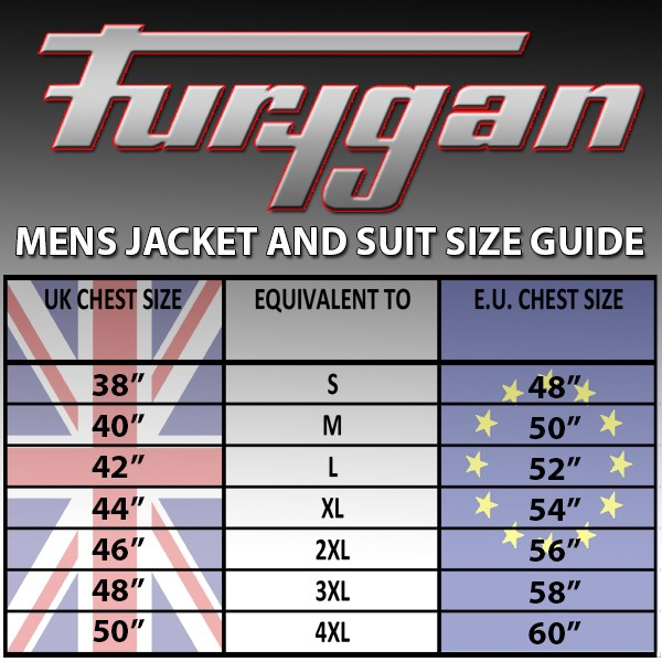 Furygan Arrow Vented Jacket Black & White
