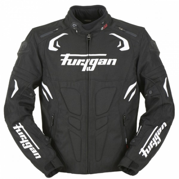 Furygan Blast Jacket Black & White