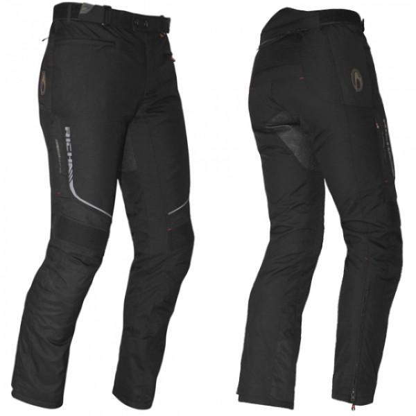 Richa Colorado Textile Trousers Black Short Leg