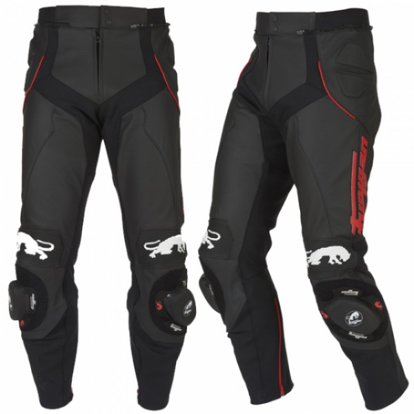 Furygan Raptor Trousers Black & Red