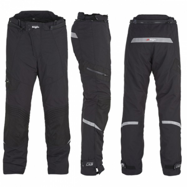 Furygan Trekker Trousers Black  Short Leg