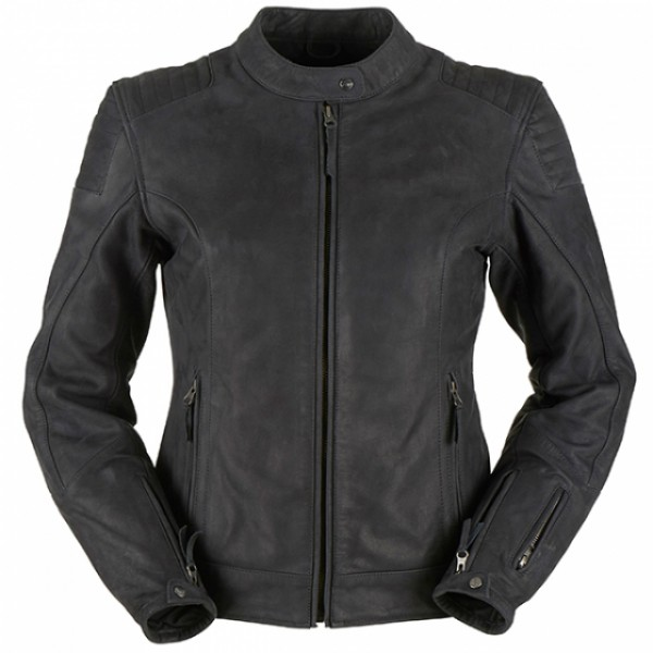 Furygan Debbie Ladies LeatherJacket Black