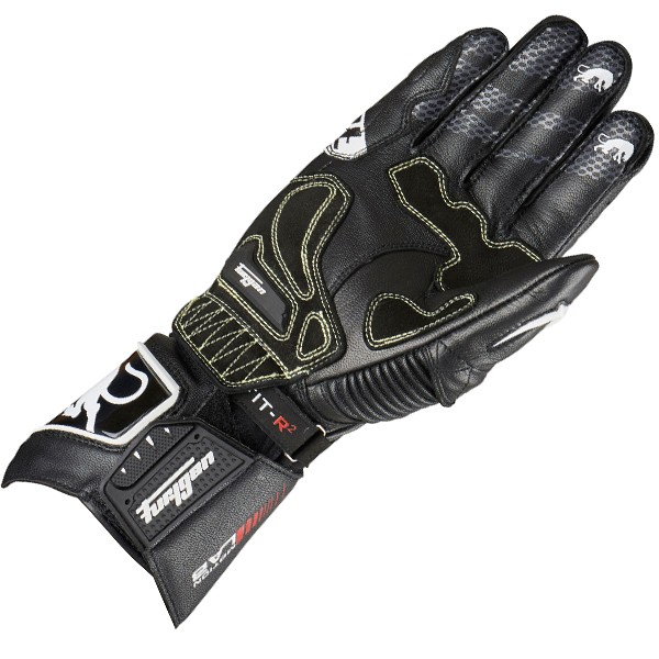 Furygan Fit-R 2 Gloves Black & White