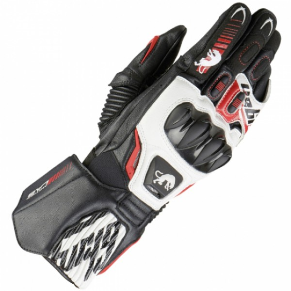 Furygan Fit-R 2 Gloves Black & White & Red