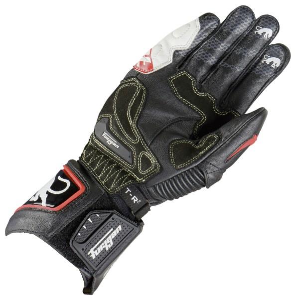 Furygan Fit-R 2 Gloves Black & White & Red